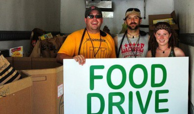 Gathering of the Vibes Food Drive