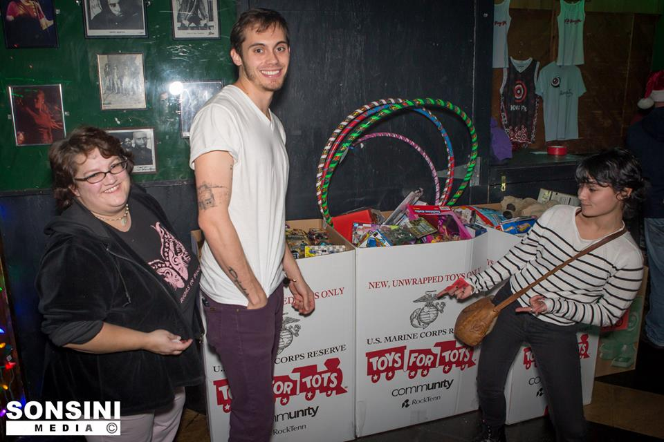 Dec 2013: Third Annual Toys-for-Tots Holiday Spectacular